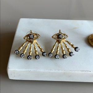 Kendra Scott Gold Callen Ear jacket earrings!